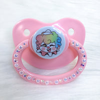 Baby Clown White Background PM Paci (Custom Options Blank to Full Deco)