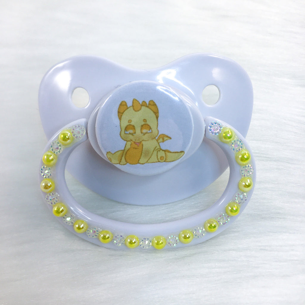 Yellow Dragon PM Paci (Custom Options Blank to Full Deco)
