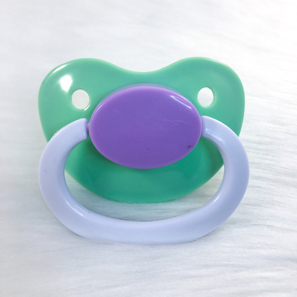 Lavender Fields Color Mix Plain Adult Paci