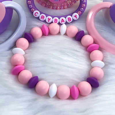 Sleepover Vibes Teether Bracelet 7.25in