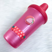 Strawbaby Red/Pink Sippy