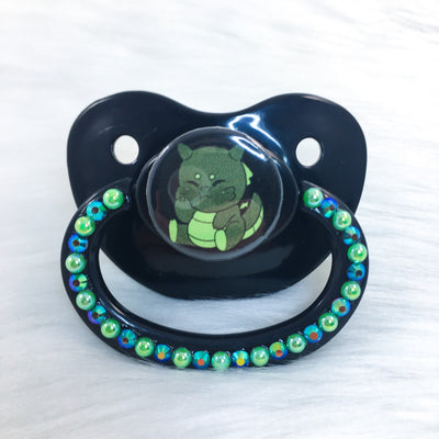Baby Green Dragon PM Paci (Custom Options Blank to Full Deco)