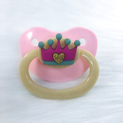 Golden Crown Simple BE Paci