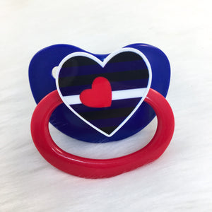 Leather Pride Heart HC Paci