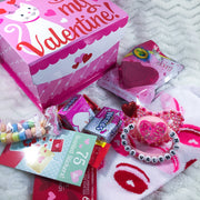 Mommy's Valentine Set (Paci, Box, Candy, Socks, Bath Bomb)