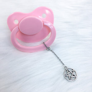 Simple Pentacle Paci Charm