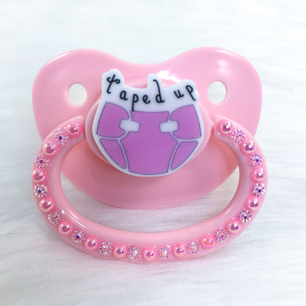 Tapped Up PM Paci (Custom Options Blank to Full Deco)