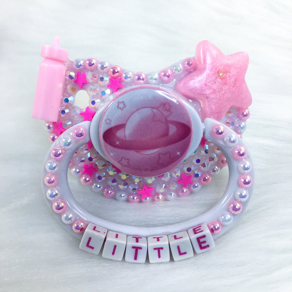 Pink Planet PM Paci (Custom Options Blank to Full Deco)