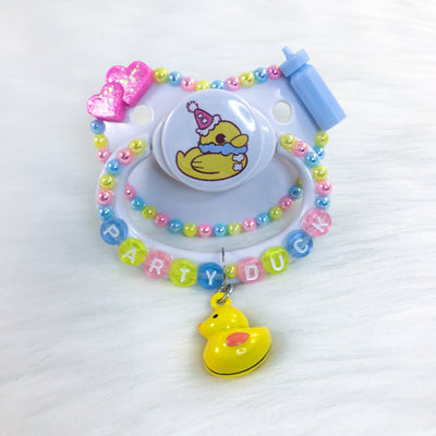 Party Duck PM Paci (Custom Options Blank to Full Deco)