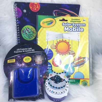 Space Princess Set (BE Paci, Midnight Slime, Projection Light, Notebook, Mobile Craft Kit)