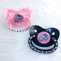 Locked Up Cage PM Paci (Custom Options Blank to Full Deco)