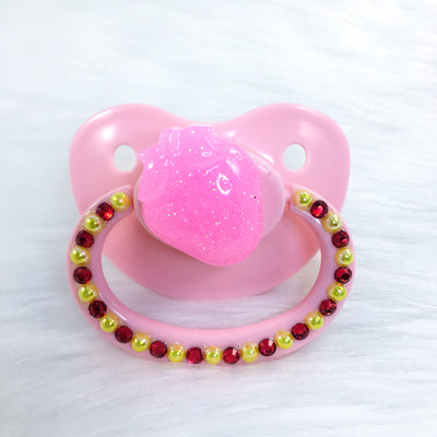 Seconds Strawberry Love PM Paci