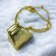 Gold Cow Bell Chain Collar/Necklace