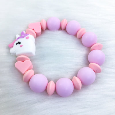 Unicorn Dreams Teether Bracelet 6.25in