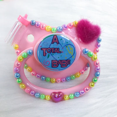 A Total Babe PM Paci (Custom Options Blank to Full Deco)