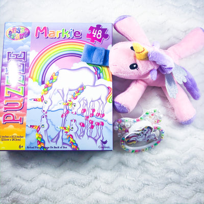 Rainbow Unicorn LF Set (Paci, Paci PAL, Puzzle)
