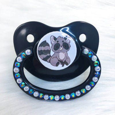 Little Raccoon PM Paci (Custom Options Blank to Full Deco)