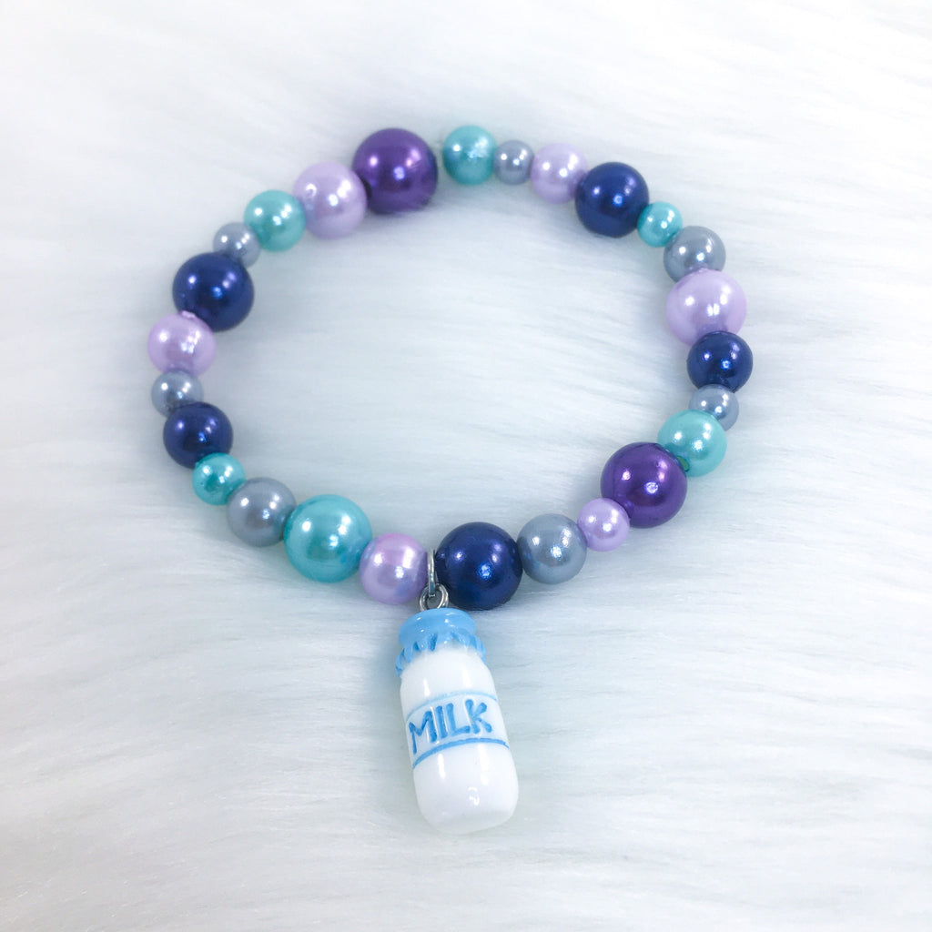 Blue Moo Galaxy Littlespace Bracelet