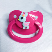 Little Deer Pink/Blue Paci