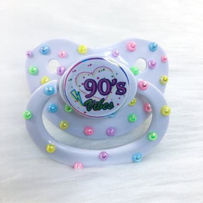 Seconds 90's Vibes Confetti Premade BE Paci