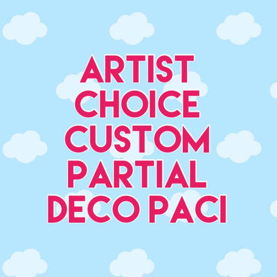 Artist Choice Custom WET SHAKER Partial Deco Paci