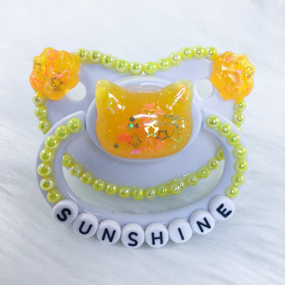 Sunshine Kitten Border PM Paci