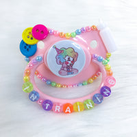 Sprinkles the Clown PM Paci (Custom Options Blank to Full Deco)