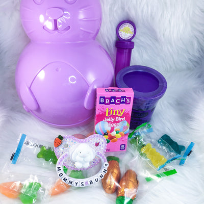 Mommy's Bunny Set (PM Paci, Bunny Box, Bubbles, Candy, Play Dough)