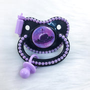 Purple Littlespace Flying Saucer Premade PM Paci
