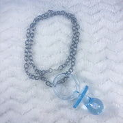 Blue Paci Necklace