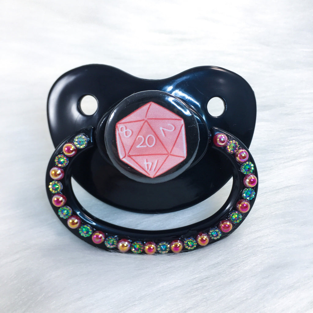 Red D20 PM Paci (Custom Options Blank to Full Deco)