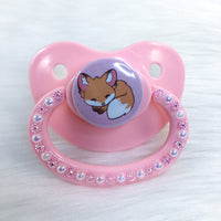 Baby Fox PM Paci (Custom Options Blank to Full Deco)