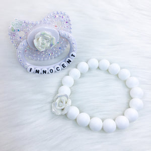 Innocent Iridescent Set (PM Paci and 7.25in Teether Bracelet)