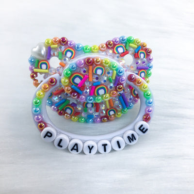 Playtime Rainbow Sprinkles PM Paci