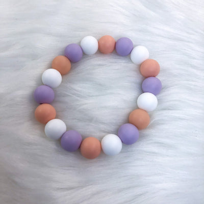 Pastel Halloween Teether Bracelet 7.25in