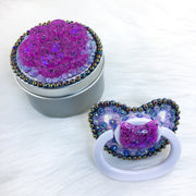 Techno Kitten Set (PM Paci with Customizable Handle, Stash/Paci Jar)