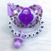 Purple Daddy's Princess PM Paci