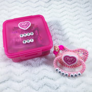 Good Boy Ruffle Heart Set (PM Paci, Candy, Storage Container)