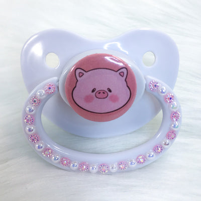 Chubby Piggy PM Paci (Custom Options Blank to Full Deco)