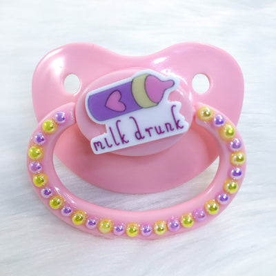 Milk Drunk PM Paci (Custom Options Blank to Full Deco)