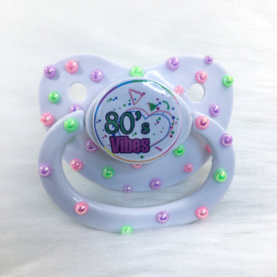 Seconds 80's Vibes Confetti Premade BE Paci