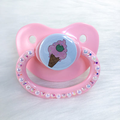 Stonie Ice Cream Piece PM Paci (Custom Options Blank to Full Deco)