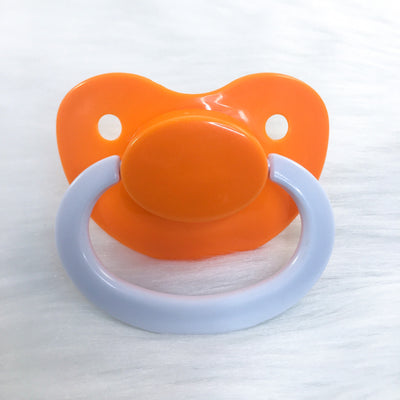 Creamsicle Color Mix Plain Adult Paci