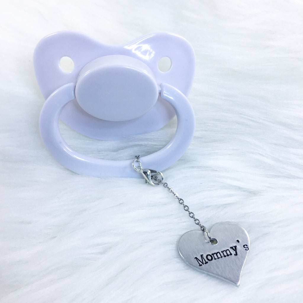 Mommy's Heart Paci Charm