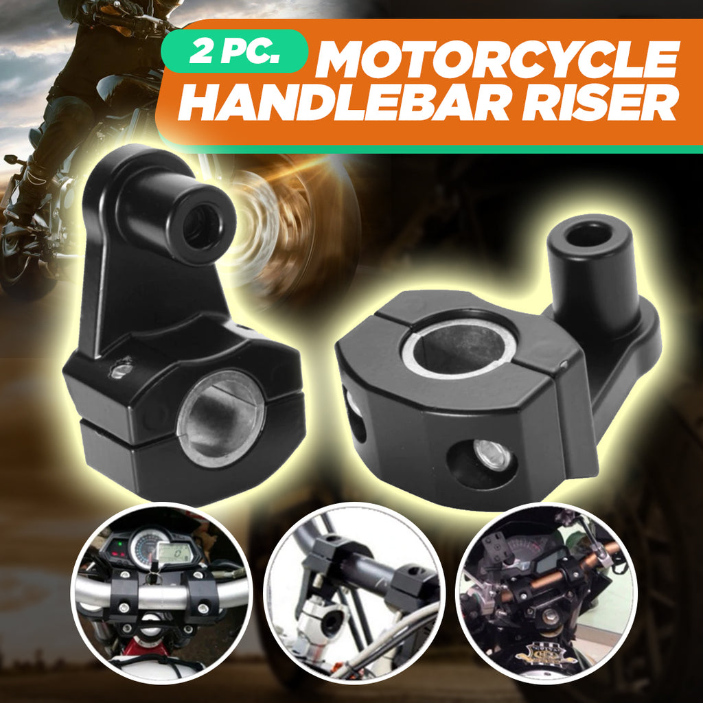 2pc. Motorcycle Handlebar Riser