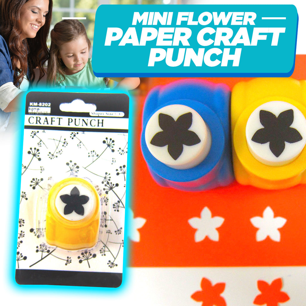 Mini Flower Paper Craft Punch