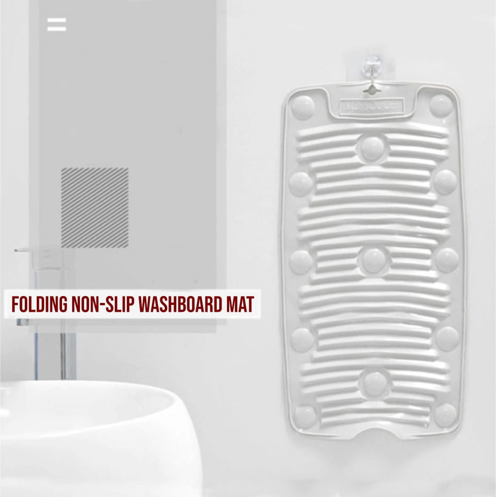 Folding Non-slip Washboard Mat - IdealWiki