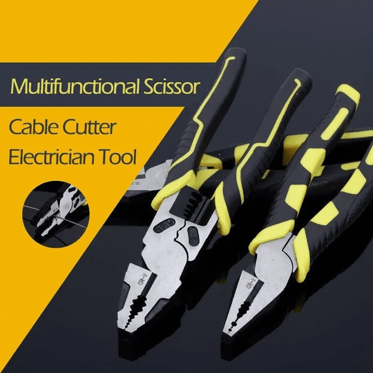 Multifunctional Scissor Cable Cutter Electrician Tool - IdealWiki