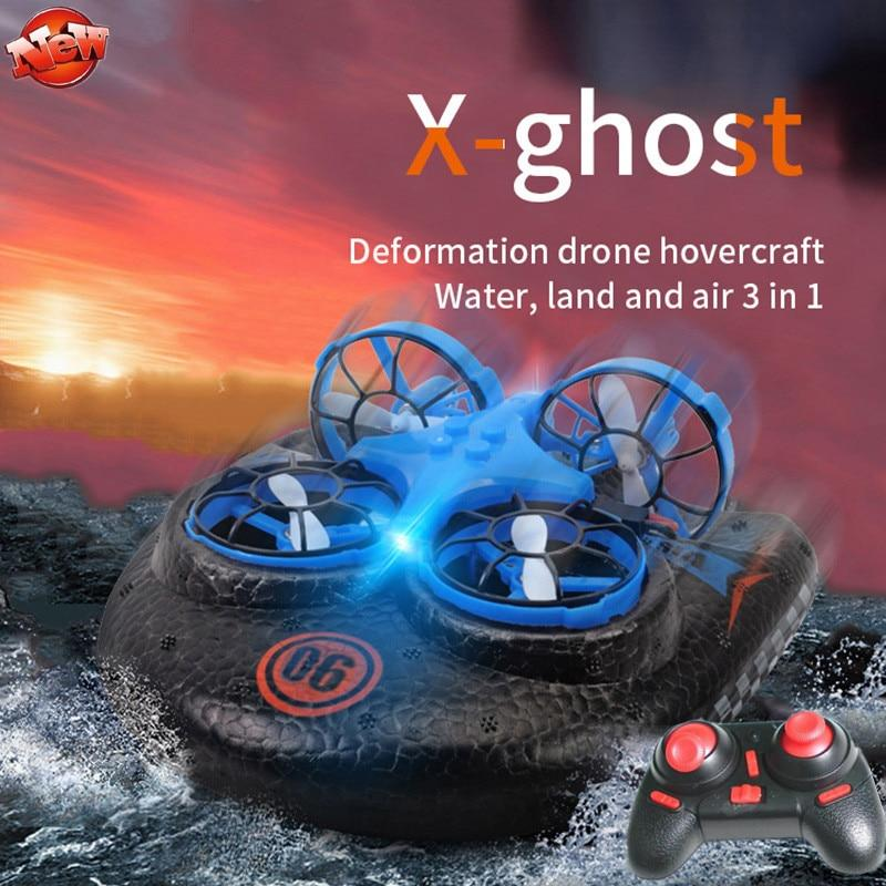 3 in 1 Magic Drone For Land, Air And Sea