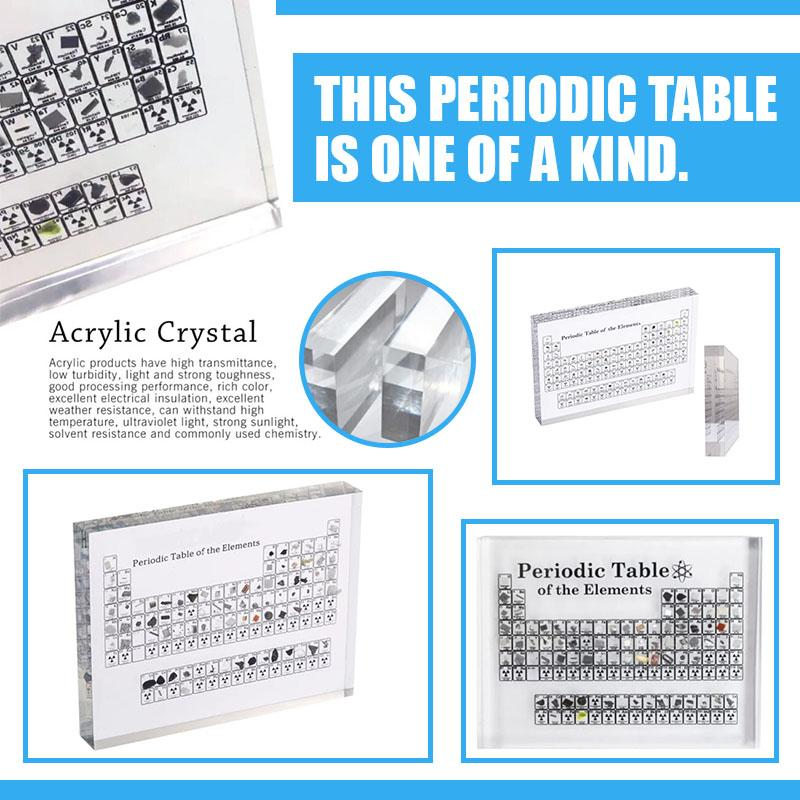 3D Periodic Table - CLEAR STOCK NOW